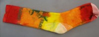Hand dyed Socks 18 (Size 6-10)
