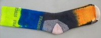 Hand dyed Socks 22 (Size 6-10)