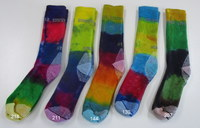 Hand dyed Socks- 2 Adults (Size 6-10)