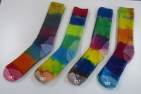 Hand dyed Socks - 1  Adults (Size 6-10)