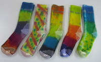 Hand dyed Socks Ladies 1 (Size 2-8)