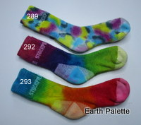 Hand dyed Socks 16  (Size 13-3 Child)