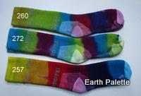 Hand dyed Socks Ladies 2  (Size 2-8)