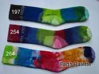 Hand dyed Socks Ladies 4 (Size 2-8)