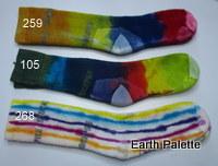 Hand dyed Socks Ladies 5 (Size 2-8)