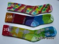 Hand dyed Socks Ladies 6 (Size 2-8)