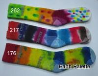 Hand dyed Socks Ladies 8 (Size 2-8)