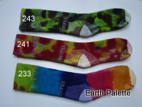 Hand dyed Socks Ladies 9 (Size 2-8)